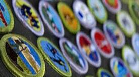 [Merit badges]